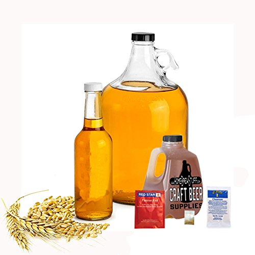 HomeBrewStuff Basic 1 Gallon Nano-Meadery Braggot Honey Mead Recipe Refill Kit