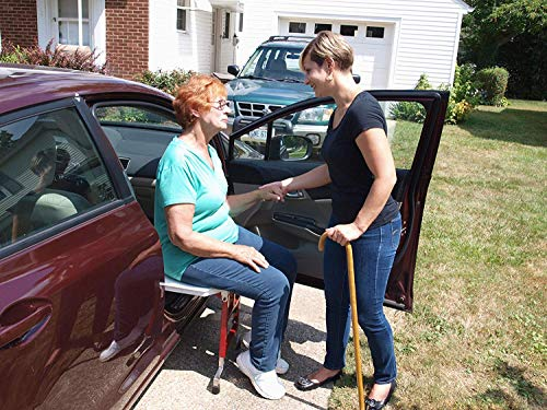 SLIDE 'n RIDE Vehicle Assist Transfer Seat/Board/Device 500lb. Rated-Adjustable, Safe, Compact - Very Important: Fits Most Sedans - Please Measure Your Vehicle Before Purchasing - (See Measure Guide)