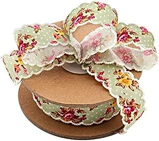 Vintage Floral Shabby Chic Ribbon - 1