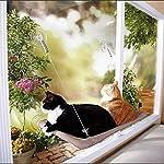 Freahap Hamac Chat Fenêtre avec Ventouse Couchage Lit Chiot #1