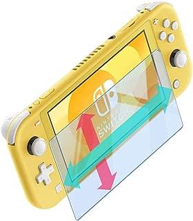 Nintendo Switch Lite ブルーライトカット 【目疲れ軽減度UP】 ガラスフィルム 90% カット 強化ガラス 荒野行動 対応 液晶保護フィルム 【実機動作確認済】 高透過率 気泡ゼロ 硬度9H switch lite 381 blue