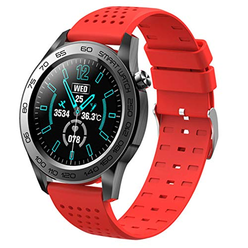 F22U Bluetooth Deportes Smart Watch Men GPS Fitness Tracker Full Touch Pulsera Inteligente Mujer Temperatura SmartWatch Android iOS,B