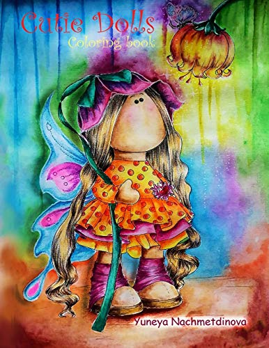 Cutie Dolls: coloring book