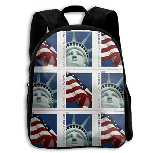 ADGBag USA Post Mail Children's Backpack Kids School Bag with Adjustable Shoulders Ergonomic Back Pad Perfect for School Security Sporting Events Kinderrucksack Rucksack