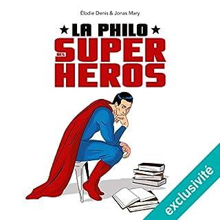 Couverture de La philo des super-héros