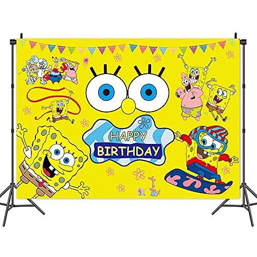 Decoraciones de cumpleaños de 5 x 3 pies, decoración de decoración de decoración de dormitorio (615,992 x 1,5 m)