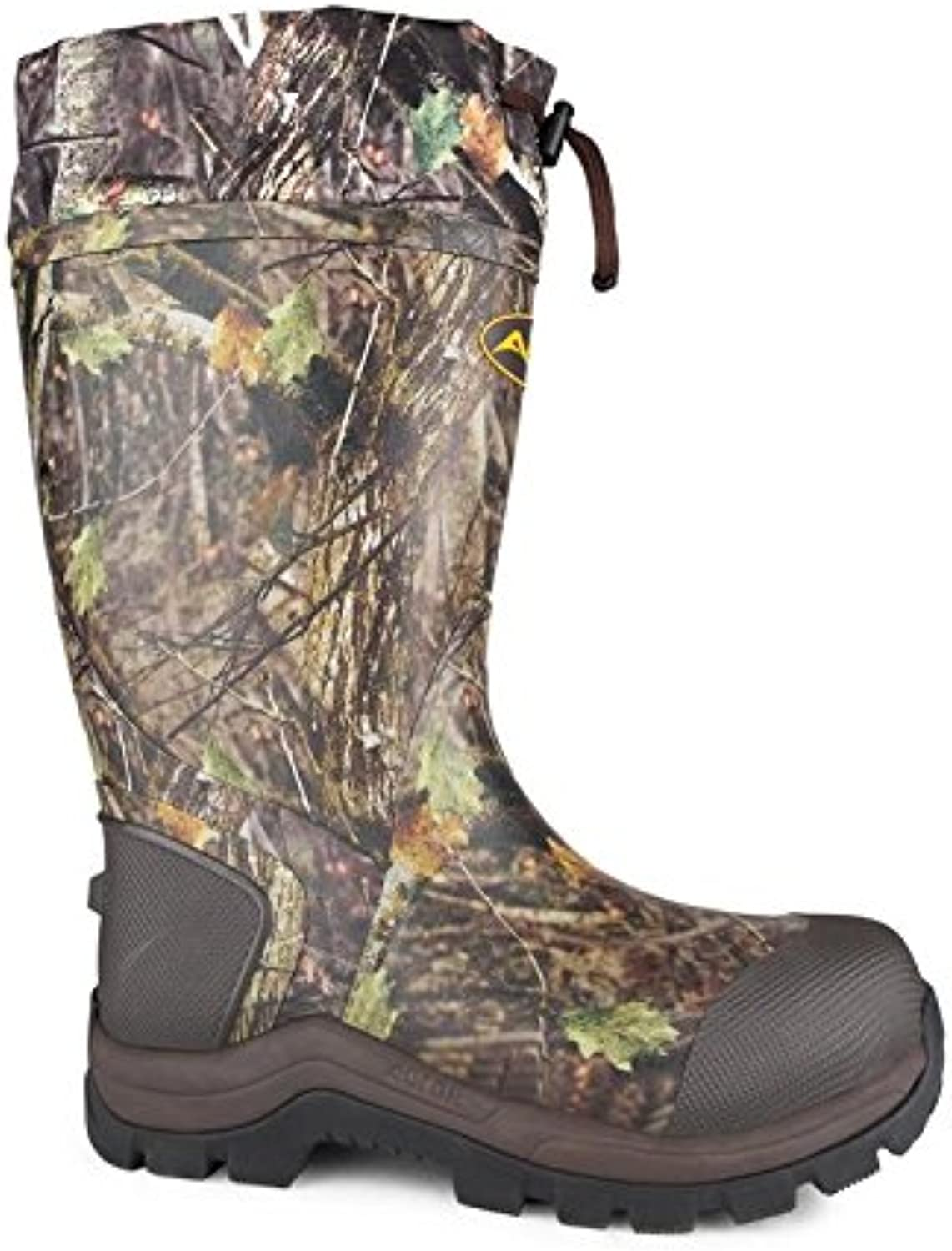 Acton Quest Industrial Rubber Boot, Camouflage