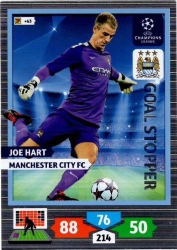 ADRENALYN xl ligue des champions 13//14 Joe Hart-Manchester City FC