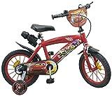 TOIMS Cars Kinderfahrrad für Jungen 40,6 cm rot - 2