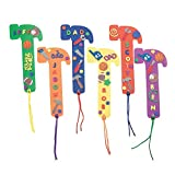 Fabulous Foam Dad Bookmarks - Crafts for Kids and Fun Home Activities