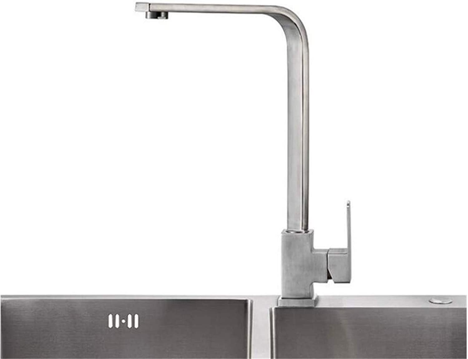 Hot and Cold Vintage Brass Bathroom Kitchen Sink Taps Bathroom Taps 304 Stainless Steel Sink Faucet Kitchen Faucet
