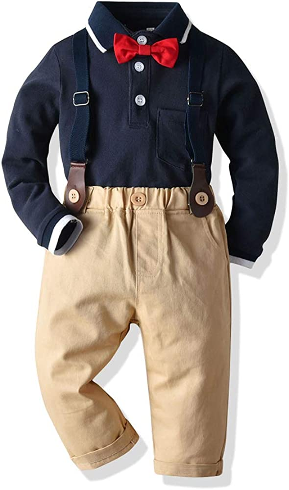 Moyikiss Studio Baby Boys Gentleman Infant favorite Suits All items free shipping Pan Outfit
