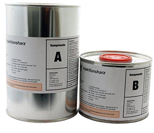 1,2kg Epoxidharz, Gießharz, Laminierharz, Rissharz, Injektionsharz INTOPOX R101