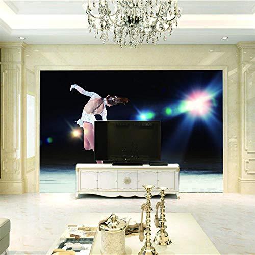 SMHCHA Fototapete Tanzen 3D Effekt Wandbild Vlies Tapete Wall Moderne Wanddeko Wand Schlafzimmer Wohnzimmer 250cmx175cm