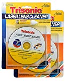 DDI 2 Kits of Trisonic CD/DVD/CD-ROM Laser Lens Cleaner-Liquid Included