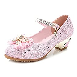 Z-Pink Mary Jane Low Heels Shoes