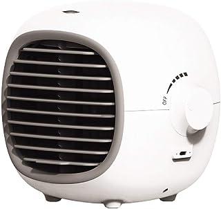 COLLAR Aire Acondicionado De Escritorio USB Ventilador De Refrigeración por Agua, Humidificar El Aire, Uso De Carga De La Función De Almacenamiento De Energía, para Uso Doméstico O De Oficina