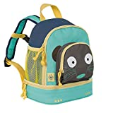 LÄSSIG Kinderrucksack Kindergartentasche mit Brustgurt/Mini Backpack Wildlife Meerkat