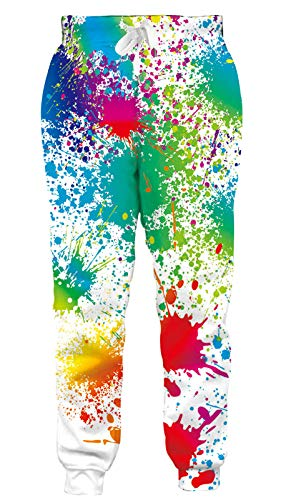 Goodstoworld Funky Sweatpants Casual Comfy Joggers Pants Novelty Gay Pride Graphic Sweatpant 3D Painting Sports Outdoors Tracksuit Clothing