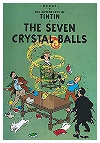 ZGPTOP Puzzle Anime Tintin Adventure Cartoon Anime Toy Family Game Difficoltà Sfida Challenge Jigsaws in Legno Puzzle 300/500/1000/1500 Pezzi, 2 Stili (Color : A, Size : 1000P)