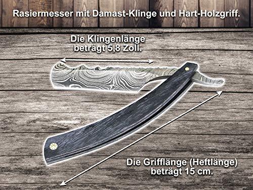 Rasiermesser mit Damast-Klinge - 2