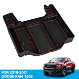 Center Console Organizer Tray for Dodge RAM 1500 2021 2020 2019 Armrest Storage Box Accessories