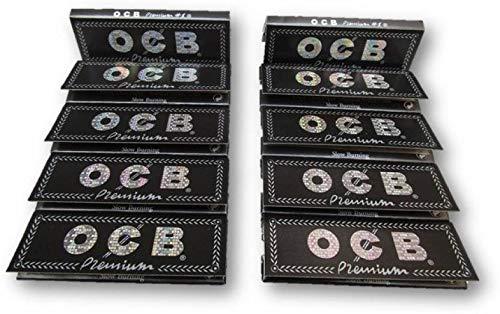 Lot de 10 Carnet Feuille à rouler - OCB Premium