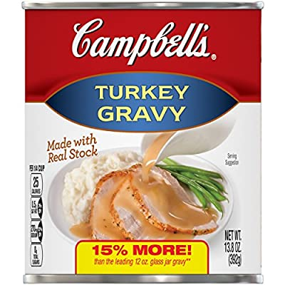 Campbell's Gravy Turkey 13.8 oz. Can (Pack of 12), 200000022447