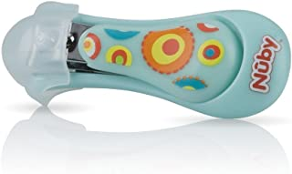 Nuby Baby Care Nail Clippers, Colors May Vary