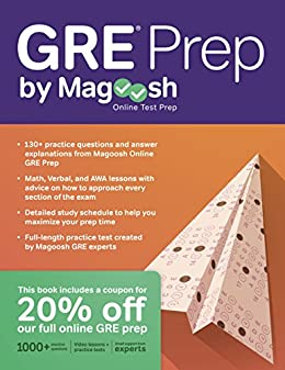GRE Prep by Magoosh by [Magoosh, Chris Lele, Mike McGarry]
