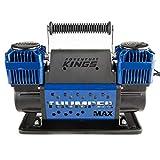 Thumper Max Air Compressor Portable Twin 300L/min 4x4 Offroad Tyre Inflator Hose