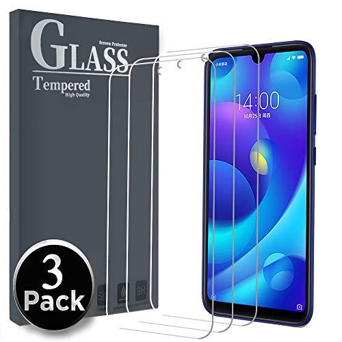Ferilinso Cristal Templado para Xiaomi Mi Play,[3 Pack] Protector de Pantalla Screen Protector para Cristal Templado Xiaomi Mi Play