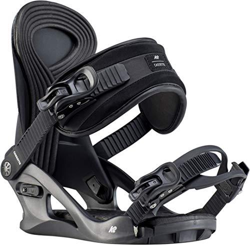 K2 Cassette Snowboard Bindings 2020 - Women's Black Medium