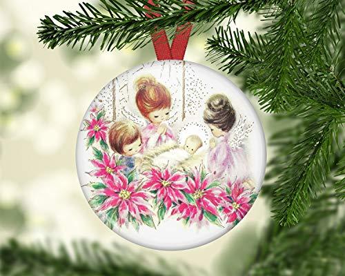 Alicert5II engelkerstversieringen engelversieringen voor kerstboom kerstversieringen feestdagdecoratie-ideeën ORN37