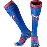 MudGear Premium Compression Socks - USA Patriot Edition - Run, Hike, Trail, Recovery (Medium)