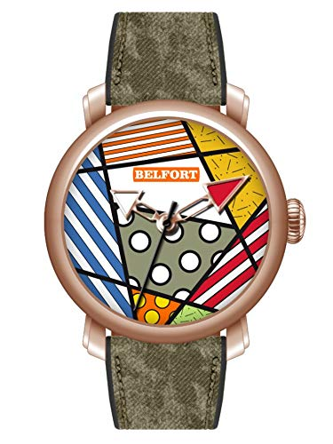 Belfort Pop Art - Reloj de pulsera fabricado en Italia Pop Art 03