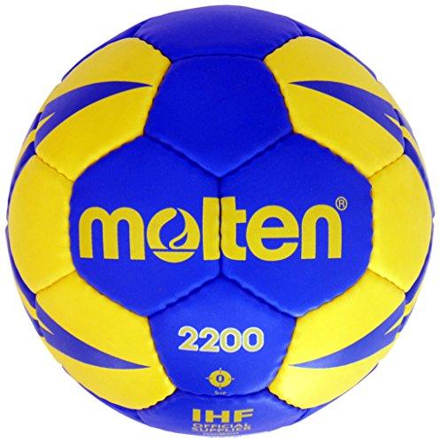 Molten Kinder H1X2200-BY Ball, Blau/Gelb, 1