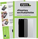 dipos I 2X Schutzfolie matt kompatibel mit Asus ZenFone 3 Deluxe Folie Bildschirmschutzfolie