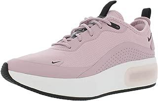 Nike Women's Air Max Dia Plum Chalk/Black/Summit White Mesh Cross-Trainers Shoes 10 M US