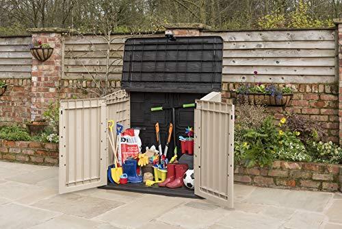 Keter 17197253 Aufbewahrungsbox Woodland, Kunststoff, Beige/Light Maroon - 3