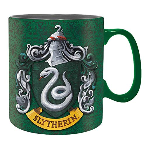 ABYstyle ABYMUG299 -HARRY POTTER - Tasse - 460 ml – Slytherin