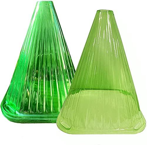 20 Stück Schneckenkragen Pflanzenhut, Pflanzenabdeckung zum Schutz vor Witterung & Schädlingen