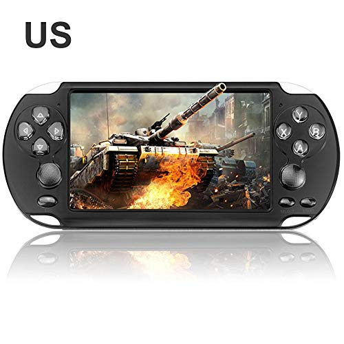 Handheld Game Console Double Rocker Handheld Game Console X9-s 8G Built-in 10,000+ Games 5.1 Inch HD Screen With Lens