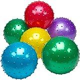 Best Bouncy Balls - Bedwina Knobby Balls - (Pack of 6) Bulk Review