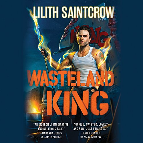 Wasteland King audiobook cover art