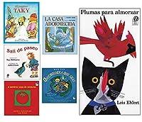 Becker's School Supplies Spanish Picture Book Set (Set of 6 Books) [並行輸入品]