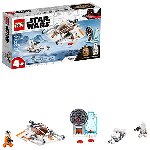 LEGO Star Wars Snowspeeder 75268 Starship Toy Building Kit; Building Toy for Preschool Children Ages 4+, New 2020 (91 Pieces)