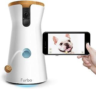 Furbo - CÁMARA para Perros: Telecámara HD WiFi para Mascotas con Audio Bidireccional, Visión Nocturna, Alerta de Ladrido y Lanzamiento de Golosinas, Diseñado para Perros