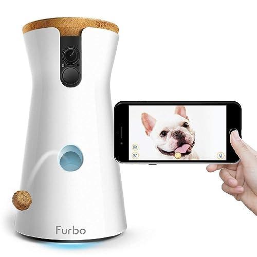 Furbo - Cámara para Perros: Lanzamiento de golosinas, Cámara para Mascotas WiFi HD y