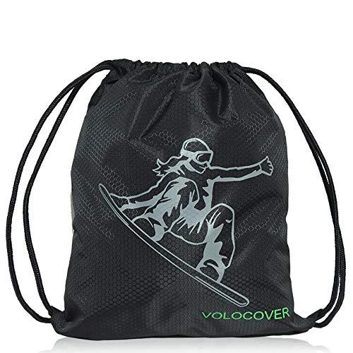 ZWHBB Waterdichte stof eenvoudige rugzak Tas Skihelm tas Sporttas Ball bag Trekkoord rugzak